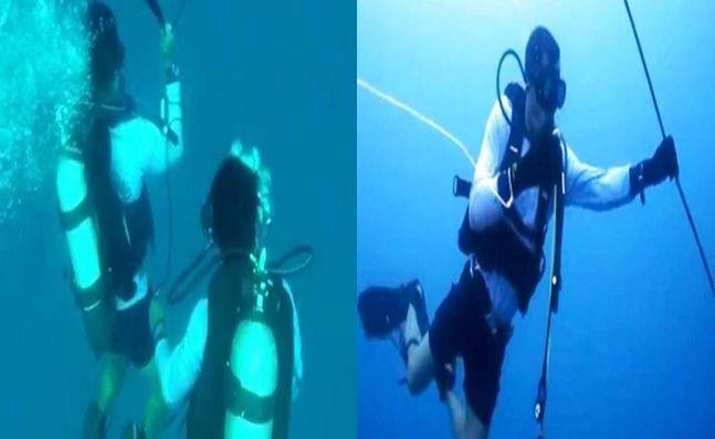 Penyelam Kongsi Saat Muncul Suara Di Laut Ketika Misi Mencari Lion air.