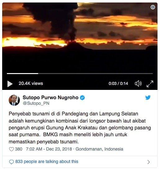 Kecut Dan Pudar Tiada Lagi: Indonesia Dilanda Tsun4mi Lagi. Rakaman Video Detik