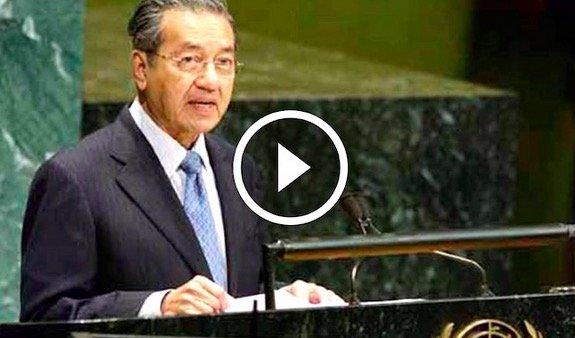 Deligasi Dunia Terus Kerumun Tun Mahathir Lepas Habis Berucap Di PBB. Ini Puncanya..
