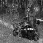 Kereta Adik Beradik TUDM Terbalik Di Tapah. Adik Maut, Abang Parah. AL FATIHAH.