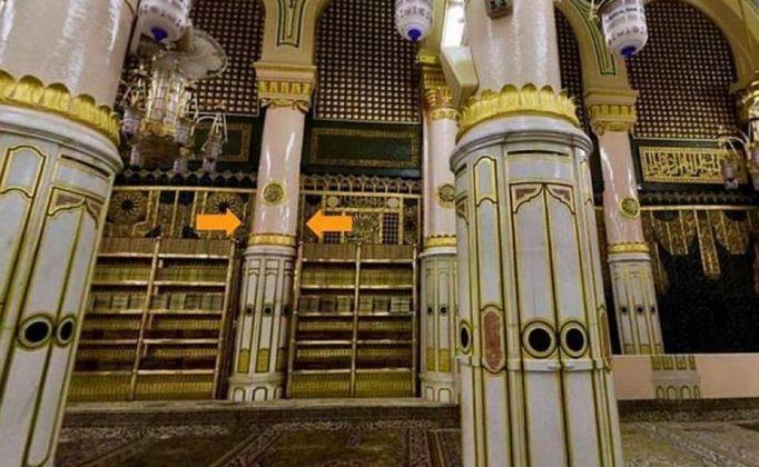 Inilah Makna 6 Tiang Di Dalam Raudhah Masjid Nabawi Tempat Paling Mustajab Doa