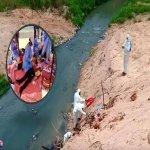Inilah Keadaan Sungai Kim kim Yang Menjadi Tempat Bahan Pembuangan Sisa Toksik.