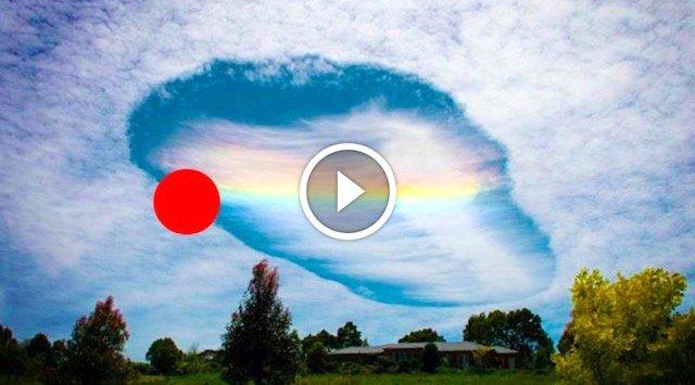 Subhanallah. Cahaya Berpusing2 Di Langit Gemparkan Penduduk. Akhirnya Saintis Bersuara. Ada VIDEO.