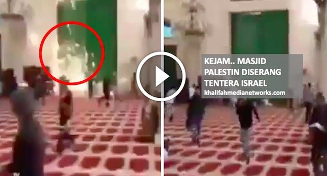 Sedang Kusyuk Ibadah, Masjid Palestin DISERANG Tentera Is rael . Allahu Ada VIDEO.