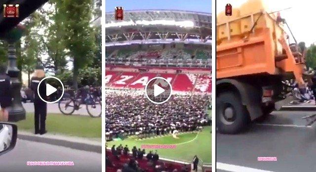 VIDEO Kebangkitan Islam Di Rusia. Meremang Bulu Roma. SUBHANALLAH.
