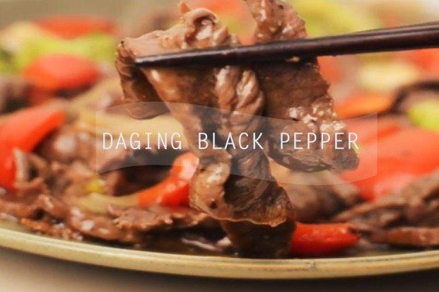 Resepi Cara Buat Masakan Daging Black Pepper Mudah