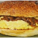 Resepi Masakan Breakfast Sandwich Ala Western