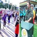 Tiada Muzik Zumba Bingit, Brunei Perkenalkan Senaman Sambil Zikir, Selawat Nabi. Ada Video.