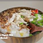 Resepi Cara Buat Bubur Ayam Ala Mekdi
