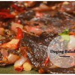 Resepi Masakan Daging Balado