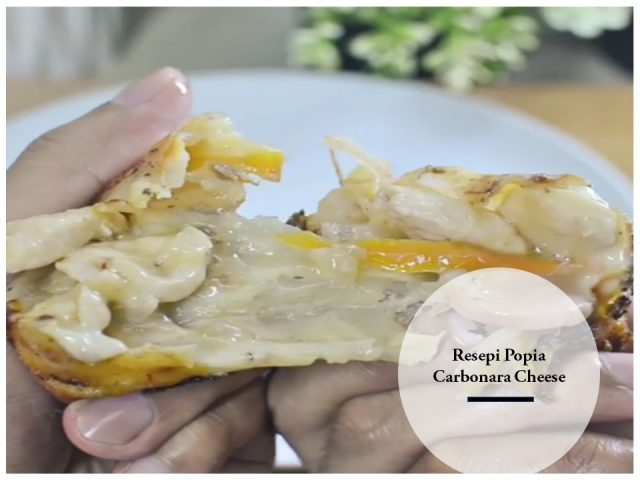 Resepi Popia Carbonara Cheese