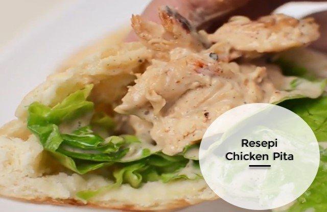 Resepi Chicken Pita Mudah Buat
