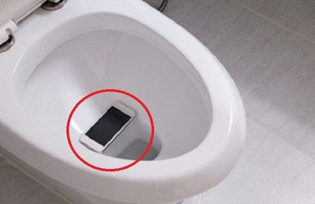 Inilah Cara Menyucikan Telefon Bimbit Yang Terjatuh Dalam Najis.