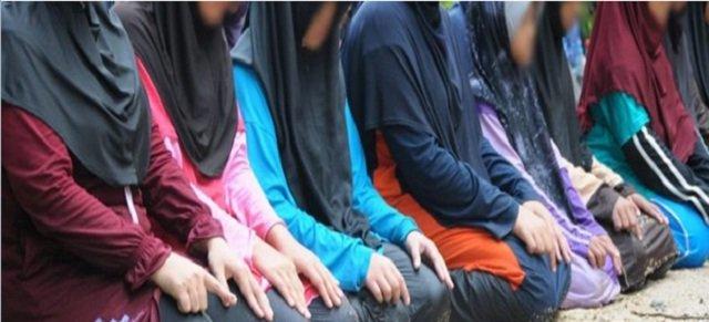 Hukum Wanita Solat Tanpa Memakai Telekung.
