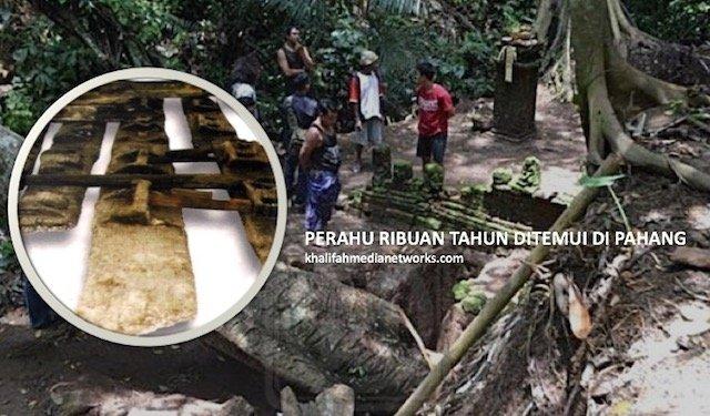 Saintis Temui Perahu Purba Tertua Asia Tenggara Di Pahang. Bukan Calang Calang...