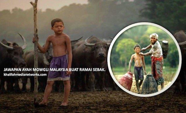 Kenapa Tak Cas Orang Ambil Gambar. Jawapan Ayah Mowgli Malaysia Buat Ramai SEBAK