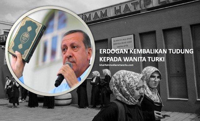 Kisah Perjuangan Erdogan Kembalikan TUDUNG Kepada Wanita Turki Yang Ramai Tak Tahu