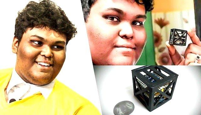 Remaja Islam 18 Tahun Di India Reka Satelit Paling Ringan Dunia Hanya 1.2 Kg. ما شاء الله