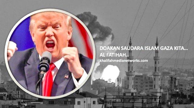 Lepas Israel Serang Gaza. Trump Terkini Umum Bukit Golan Milik Israel. APAKAH ?