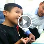 Budak Istimewa Ini Hafal Al-Quran Hanya Mendengar Alunan Bacaan Dari Radio. Ada Video.