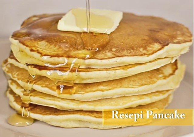 Resepi Cara Buat Pancake