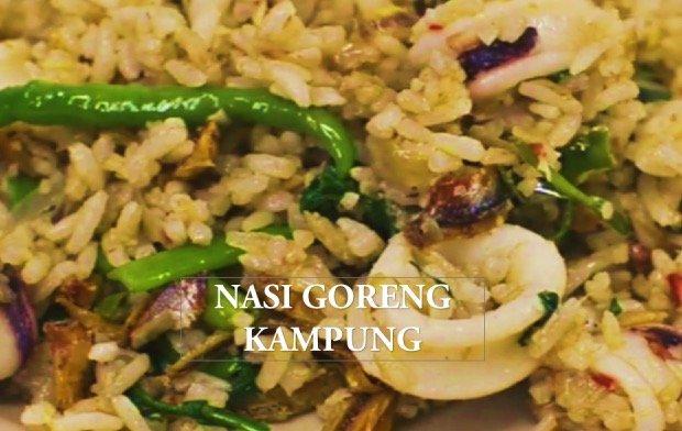 Resepi Nasi Goreng Kampung Pedas