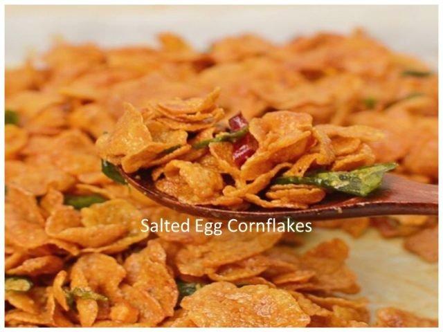 Resepi Salted Egg Cornflakes