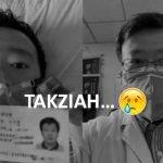 Doktor Terawal Bagi Amaran Koronavirus Akhirnya Meninggal Dunia. TAKZIAH.