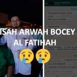 Kisah Arwah Bocey Tolak Program Maksiat, Terima Program Islamik Sempena Ambang 2020