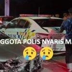 Anggota Polis Nyaris MAUT Dilanggar Pemandu Disyaki MABUK