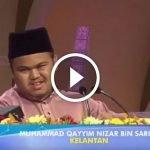 Merdu Sekali Suara Juara Tilawah Al Quran Malaysia Ni. Ada VIDEO.