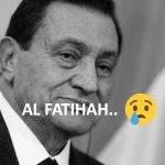 Bekas Presiden Mesir Paling Lama, Hosni Mubarak Meninggal Dunia. AL FATIHAH.