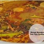 Resepi Masakan Tomyam Seafood