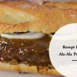 Resepi Burger Ala-Ala Prosperiti