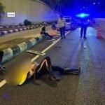 Ya Allah. 5 Anggota Polis Dirempuh Lori Ketika Buat Operasi Covid-19