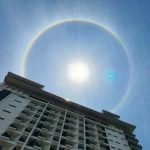 Subhanallah. Fenomena Pelangi Halo Matahari Di Langkawi. Petanda Apakah ?
