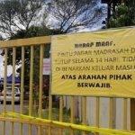 Sebuah Madrasah 300 Penghuni Di Kuala Terengganu Dikuarantin 14 Hari