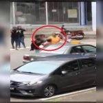 Padah Belasah Warga Emas Guna Topi Keledar. Lelaki Ini Dikesan Pihak Polis