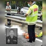 Pegawai Polis Maut Ketika Pulang Dari Tugasan PKP