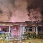 Kanak-Kanak 4 Tahun Ditemui Rentung Dalam Kebakaran Rumah Di Mersing.