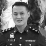 Kereta Peronda Kemalangan, Pegawai Polis Maut