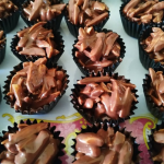 Resepi Biskut Badam Coklat