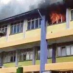 Bilik SMK Pasir Gudang 3 Pula Terbakar