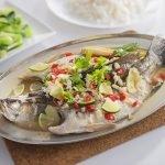 Resepi Ikan Siakap Stim Ala-ala Thai