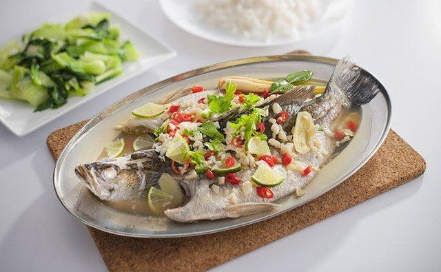 Resepi Ikan Siakap Stim Ala Ala Thai Khalifah Media Networks