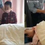 Budak Lelaki Ini Menangis Lihat Keadaan Ibunya Yang Baru Lepas Melahirkan Adiknya. Ada Video.