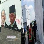 Terkini. Mural Gergasi Pemimpin Negara Diconteng Dengan Kata-Kata Kesat