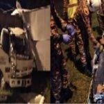 Anggota Polis Antara Tiga Yang Cedera Manakala Seorang Pemandu Lori Maut Kemalangan