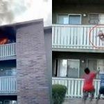 Terpaksa Campak Anak Sebab Rumah Terbakar. Ini Yang Terjadi Pada Kanak-kanak Itu. Ada Video