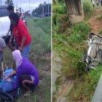 Kereta Terbabas Dalam Perjalanan Ke Sekolah, Dua Guru Maut